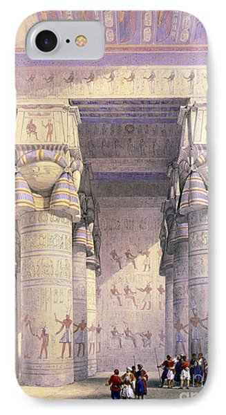 Dendera Temple Complex, 1930s IPhone Case by Science Source