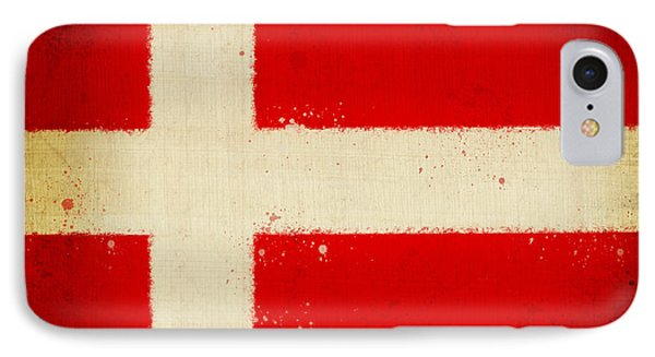 Denmark Flag Phone Case by Setsiri Silapasuwanchai