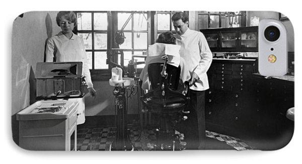Dentist Office At Sanatarium IPhone Case by Underwood Archives