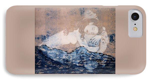 Desdemona And Othello - Tragic Sea Of Love IPhone Case by Jaeda DeWalt