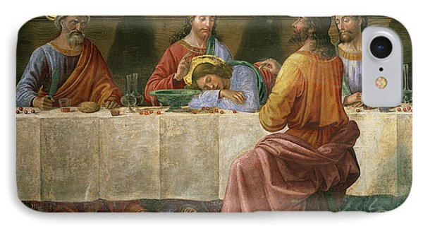 Detail From The Last Supper IPhone Case by Domenico Ghirlandaio