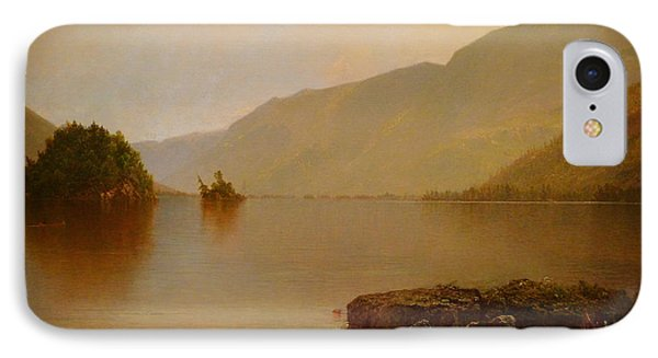 Detail Of Lake George  IPhone Case by Celestial Images
