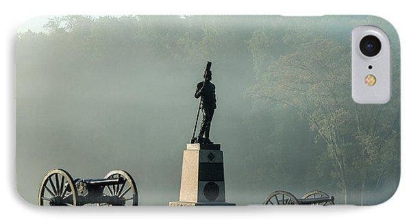 Devil's Den Monument At Gettysburg Phone Case by John Greim