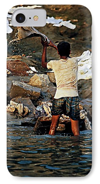 Dhobi Wallah Phone Case by Steve Harrington