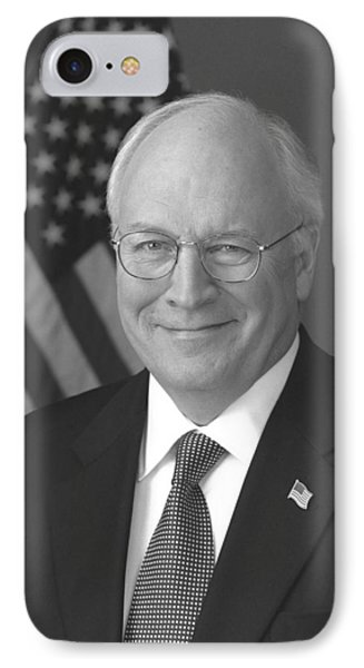 Dick Cheney IPhone Case by War Is Hell Store