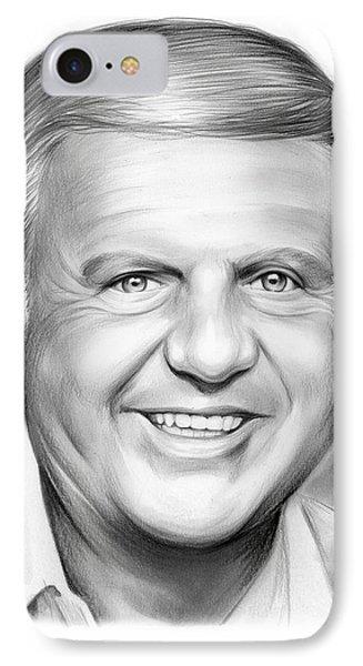 Dick Van Patten IPhone Case by Greg Joens