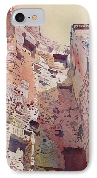 Diocletian Courtyard IPhone Case by Jenny Armitage