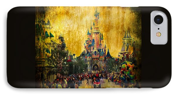 Disney World IPhone 7 Case by Svetlana Sewell