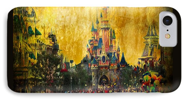 Disney World IPhone Case by Svetlana Sewell