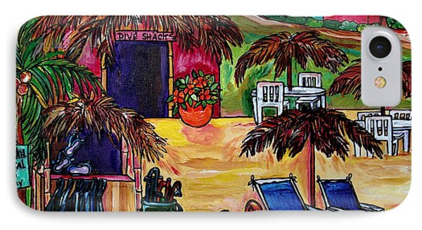 Dive Shack IPhone Case by Patti Schermerhorn