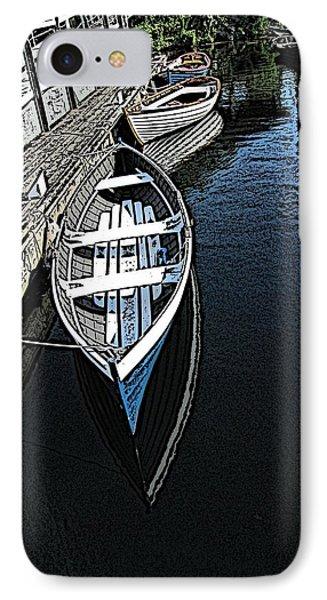 Dockside Quietude Phone Case by Tim Allen