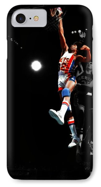 Doctor J Over The Top IPhone 7 Case by Brian Reaves
