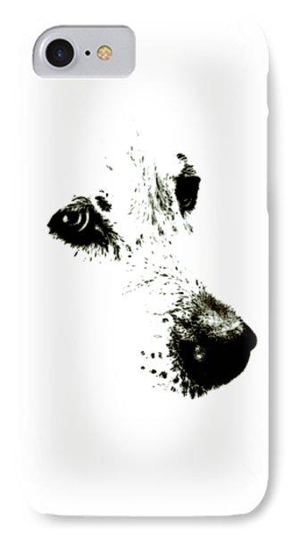 Dog Face IPhone Case by Frank Tschakert