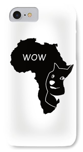 Dogecoin In Africa IPhone Case by Michael Jordan
