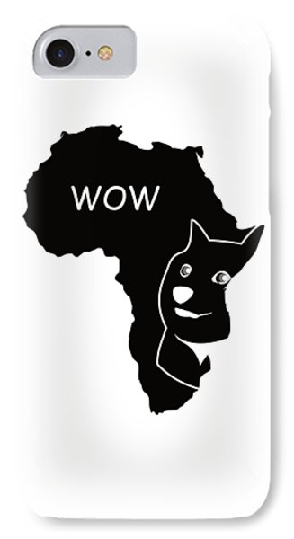 Dogecoin In Africa IPhone 7 Case by Michael Jordan