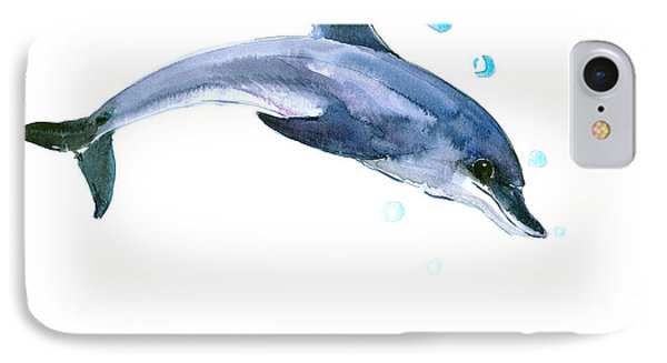 Dolphin IPhone Case by Suren Nersisyan
