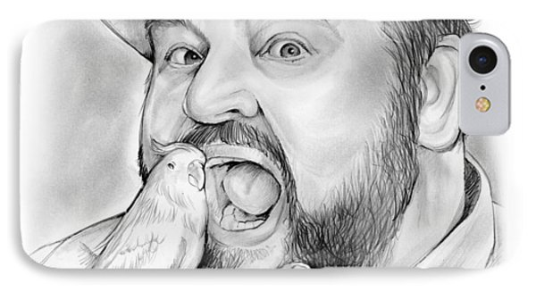 Dom Deluise IPhone Case by Greg Joens