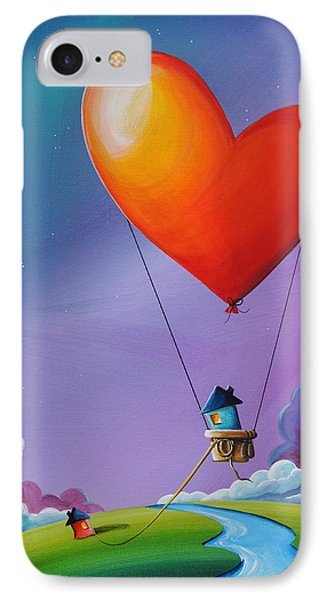 Don't Let Love Slip Away IPhone Case by Cindy Thornton