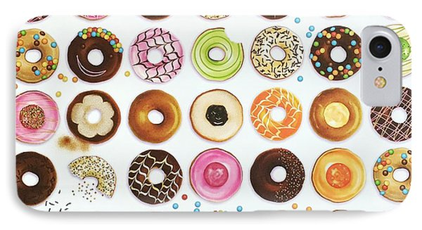 Donut IPhone Case by Ann Foo