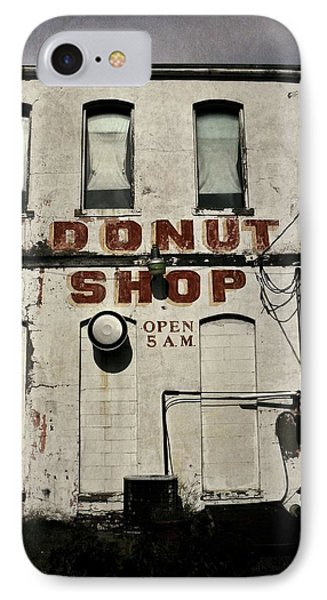 Donut Shop IPhone Case by Chris Berry