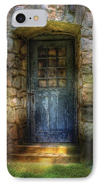 Door - A Rather Old Door Leading To Somewhere Phone Case by Mike Savad