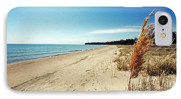Door County Beach IPhone Case by Ty Helbach