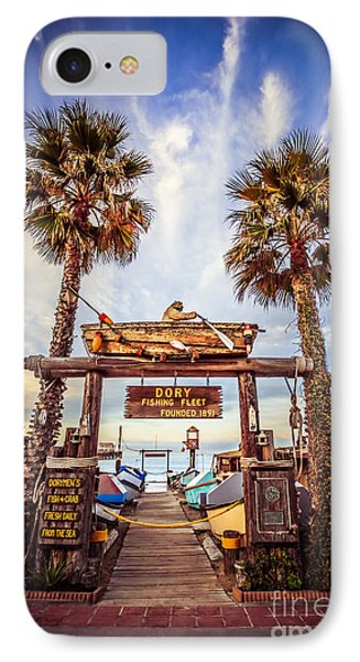 Dory Fishing Fleet Market Picture Newport Beach IPhone Case by Paul Velgos