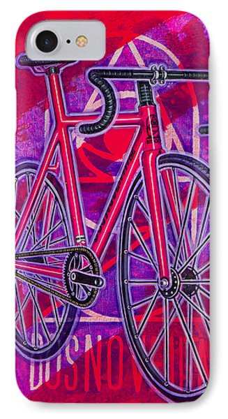 Dosnoventa Houston Flo Pink IPhone Case by Mark Howard Jones