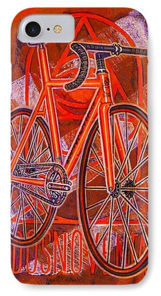 Dosnoventa Houston Flo Orange IPhone Case by Mark Howard Jones