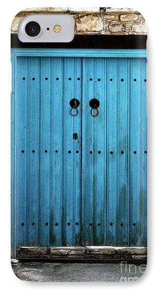 Double Blue Phone Case by John Rizzuto