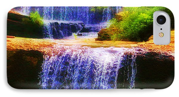 Double Waterfall Phone Case by Bill Cannon