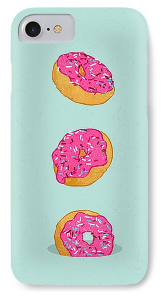 Doughnuts IPhone Case by Evgenia Chuvardina