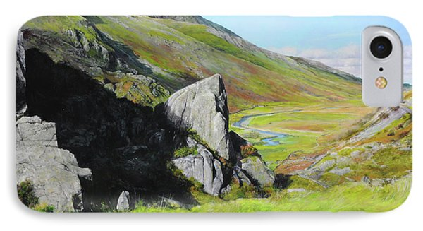Down The Valley Phone Case by Harry Robertson