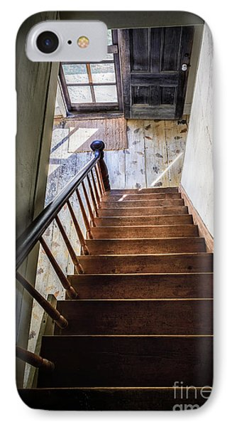 Downstairs IPhone Case by Scott Thorp