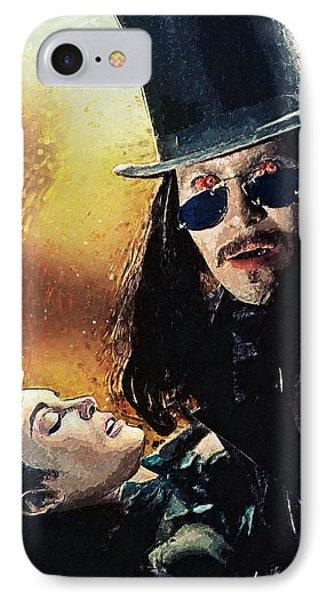 Dracula IPhone Case by Taylan Apukovska