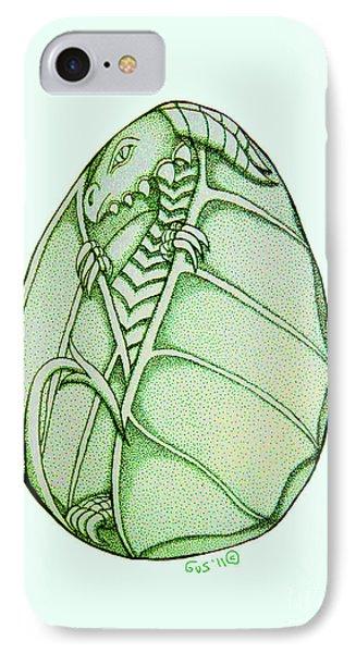 Dragon Egg Phone Case by Nick Gustafson