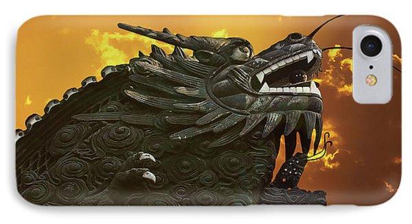 Dragon Wall - Yu Garden Shanghai Phone Case by Christine Till