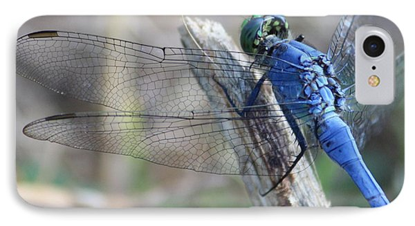 Dragonfly Wing Detail Phone Case by Carol Groenen