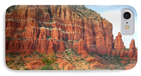 Drama In Sedona IPhone Case by Carol Groenen