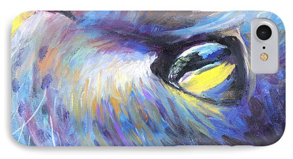 Dreamer Tubby Cat Painting IPhone Case by Svetlana Novikova