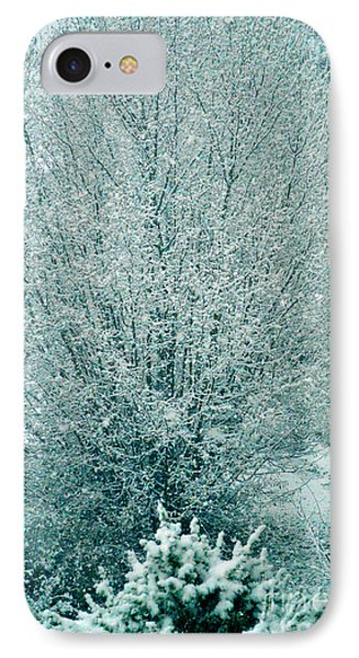 Dreaming Of A White Christmas - Winter In Switzerland IPhone Case by Susanne Van Hulst