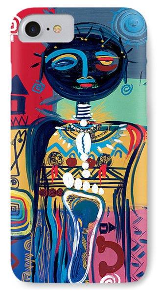 Dreaming Of Africa IPhone Case by Oglafa Ebitari Perrin