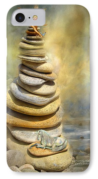 Dreaming Stones IPhone 7 Case by Carol Cavalaris