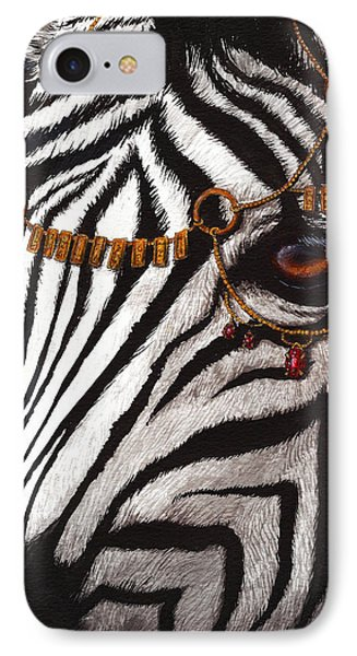 Dressed In Gold And Rubies Phone Case by Danielle Trudeau