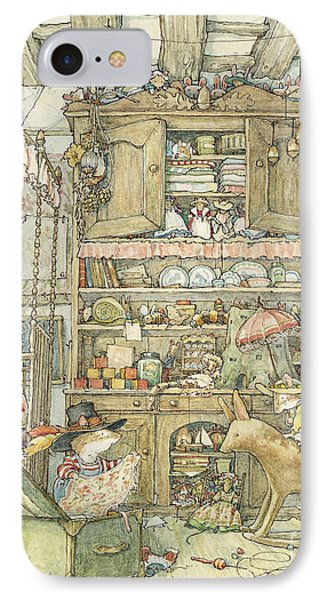 Dressing Up At The Old Oak Palace IPhone Case by Brambly Hedge
