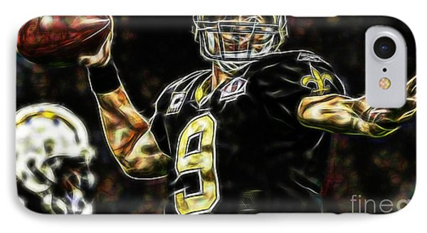 Drew Brees Collection IPhone Case by Marvin Blaine