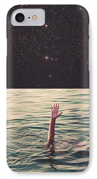 Drowned In Space IPhone Case by Fran Rodriguez