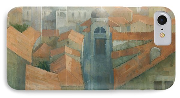 Dubrovnik Rooftops Phone Case by Steve Mitchell