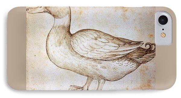 Duck IPhone 7 Case by Leonardo Da Vinci