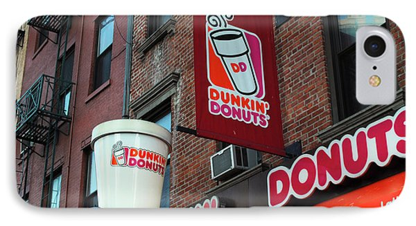 Dunkin' Donuts IPhone Case by Agnes Czekman
